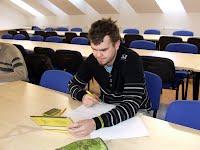 Dvořák při testu